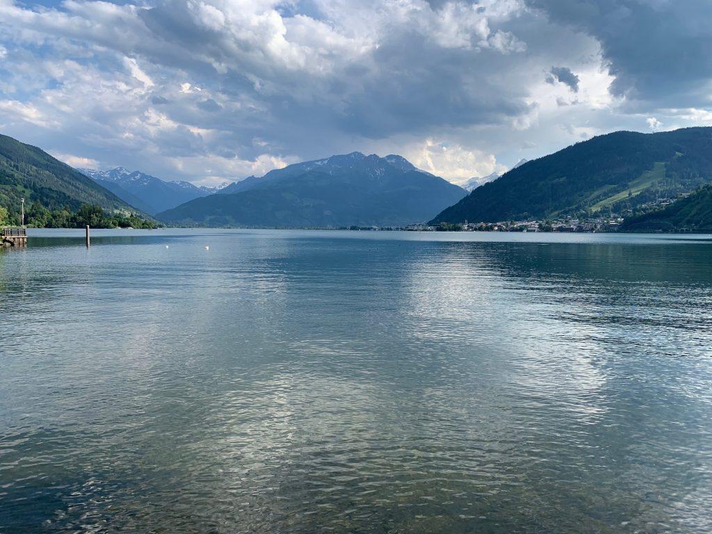 Zeller See mit Kitzsteinhorn im Hintergrund